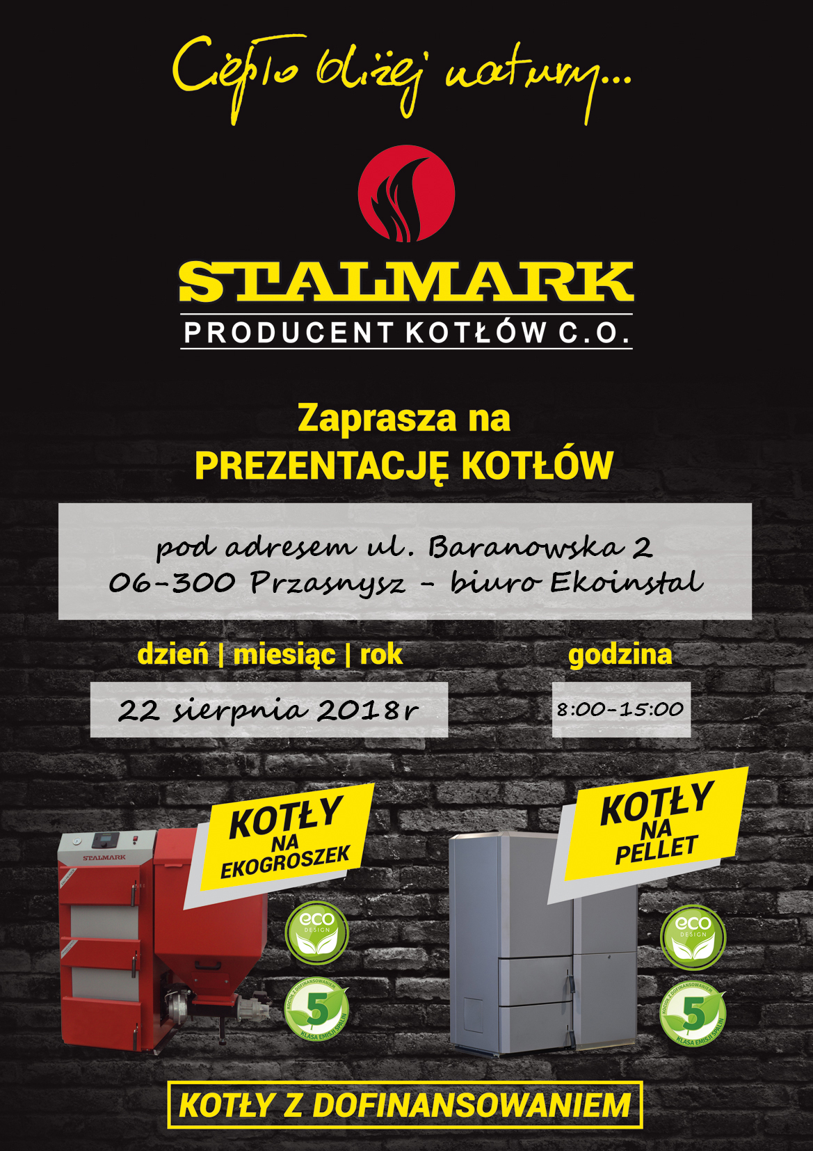 Plakat Stalmark